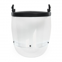 JSP Surefit Visor Carrier with 17.5cm Polycarbonate Visor and Chinguard