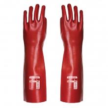 Portwest A445 Red PVC Gauntlet 45cm