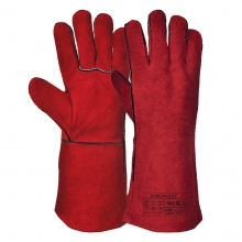 Portwest A500 Red Welders Gauntlet 35cm