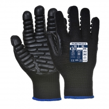 Portwest A790 Black Anti-Vibration Gloves