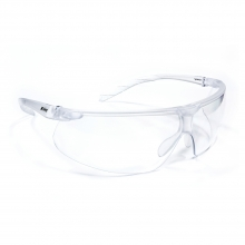Riley Riletto Ultra-Lite Clear Safety Glasses with Clear Lenses
