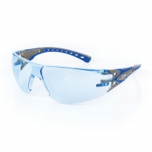 Riley Stream Evo Safety Glasses with Blue Lenses