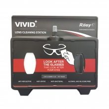 Riley Vivid Refillable Lens Cleaning Wall Station