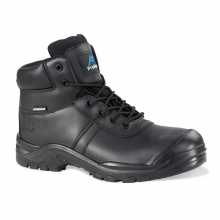 Baltimore Black Waterproof Safety Trainer