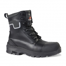 Shale Black High Leg Safety Boot