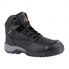 Flint Black Fashionable Safety Boot