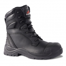 Clay Black High Leg Waterproof Safety Boot UK8