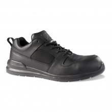 Rock Fall RF660 Chromite Black Full Grain Safety Trainer UK6.5