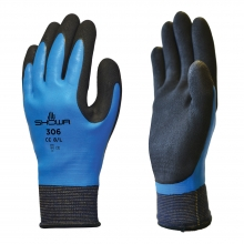 Showa 306 Fully Coated Latex Grip Gloves