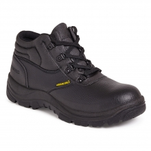 Black D-Ring Chukka Saftey Boot