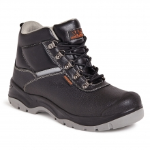 Worksite Black Water Resistant Safety Boot
