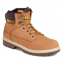 Worksite Honey Nubuck Leather Safety Boot