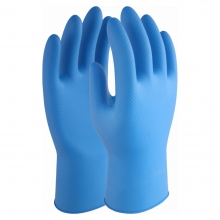DG-BluePro-Diamond Extra Nitrile Powder Free Disposable Gloves