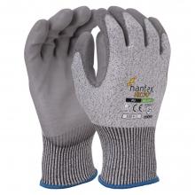 Hantex HX5-PU PU Palm Coated Cut Resistant Gloves