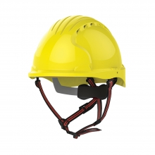 JSP EVO5 Dualswitch Climbing & Safety Helmet Vented Yellow
