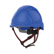 JSP EVO5 Dualswitch Climbing & Safety Helmet Vented Royal Blue