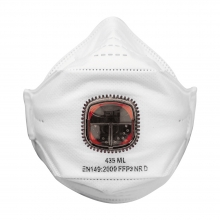 JSP Springfit 435ML Valved FFP3 Disposable Respirator - Box of 10