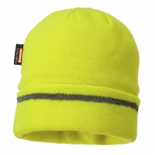 Portwest B023 Reflective Trim Beanie Hat Insulatex Lined