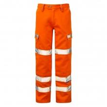 Pulsar PR336 Hi-Vis Orange Combat Trousers