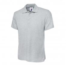 UC101 Classic Poloshirt Heather Grey Size Large