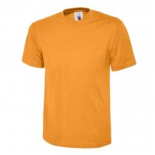 Uneek UC301 Orange Classic T-Shirt Size M