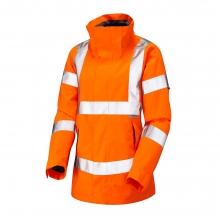 Leo Rosemoor Women's Hi-Vis Orange Breathable Jacket