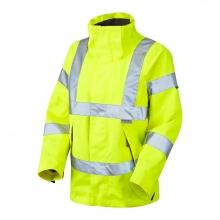 Leo Rosemoor Women's Hi-Vis Yellow Breathable Jacket
