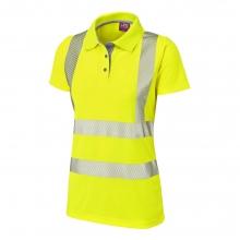 Leo Pippacott Women's Hi-Vis Yellow Coolviz Ultra Poloshirt