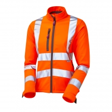 Leo Honeywell Women's Hi-Vis Softshell Jacket