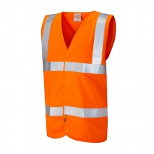 Leo Milford Hi-Vis Orange LFS Waistcoat Size XL