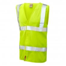Leo Milford Hi-Vis Yellow LFS Waistcoat