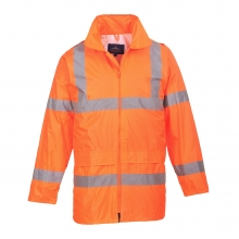 Portwest H440 Orange Hi-Vis Rain Jacket
