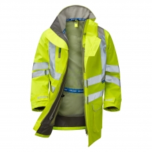 Pulsar P421 Hi-Vis Unlined Storm Coat