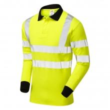 Pulsar PARC21 Hi-Vis FR AST ARC Long Sleeve Poloshirt