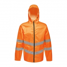 Regatta Hi-Vis Pro Packaway Waterproof Jacket