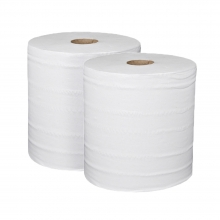 Monster Rolls White 2 Ply 1000 Sheet (Pack of 2 Rolls)