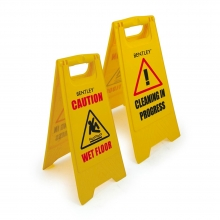Heavy Duty Warning Wet Floor A-Board Sign