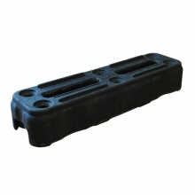 Fence Base MkII PVC Foot for Mesh Fence Panels