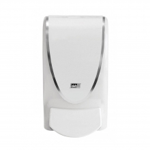 Deb Translucent White 1Ltr Dispenser