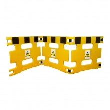 Addgards Handigard 3-Panel Yellow/Black Safety Barrier