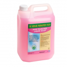 Pink Pearlised Liquid Soap 5Ltr