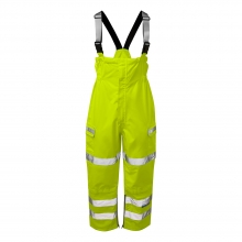 Pulsar P521 Hi-Vis Foul Weather Salopette