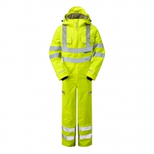 Pulsar P522 Hi-Vis Unlined Coverall