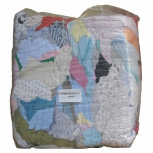 Industrial Cleaning Rags 10kg Bag