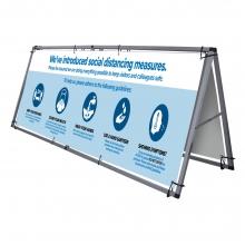 Social Distancing Measures Banner