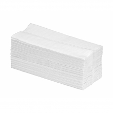 White 2 Ply C-Fold Hand Towels
