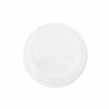 Vegware CPLA Hot Cup Lid 89mm - Pack of 1000
