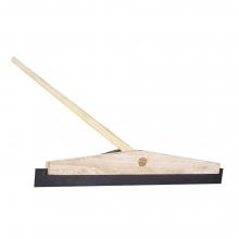 Wooden Floor Squeegee with Handle