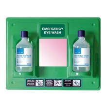 First Aid Eye Wash Station