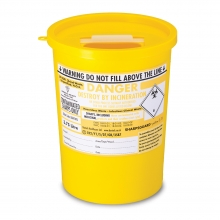 Sharps Disposal Container Bin 3.75 litre